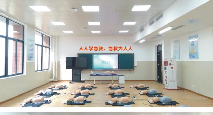 洛阳职业技术学院室内广告标牌